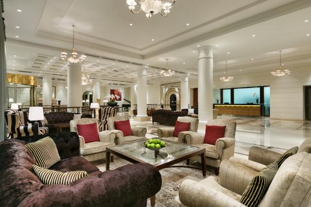 Hotel Kempinski Vilnius Lobby