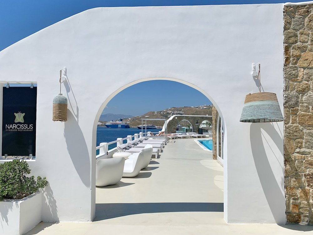 Kouros Hotel & Suites - Narcissus restaurant and dining