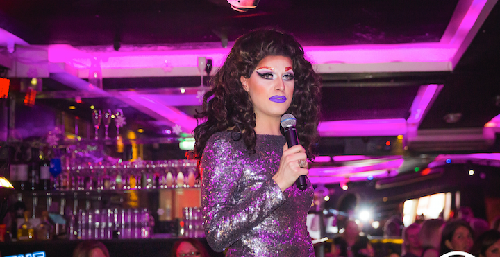 The Drag Brunchette at Soho Zebrano Vanity von Glow