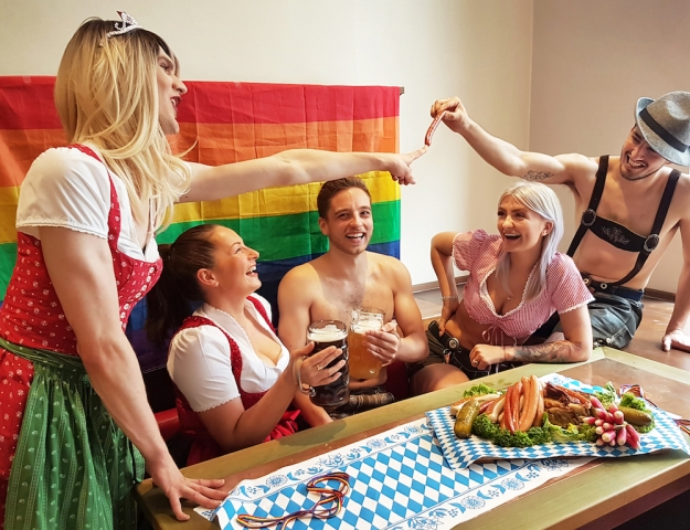 Gay Oktoberfest Vanity Von Glow