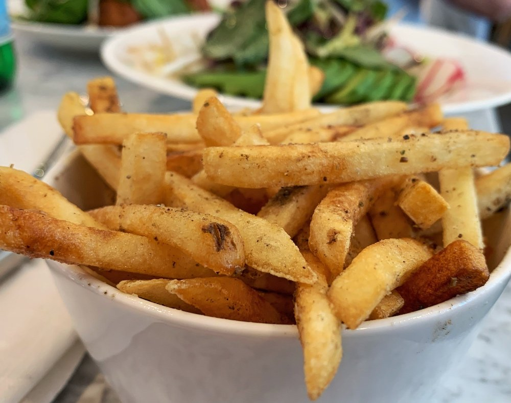 LIV restaurant fries