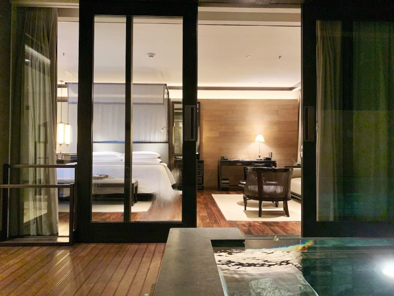 Apurva Kempinski hotel Bali - Cliff Private Pool Ocean Suite