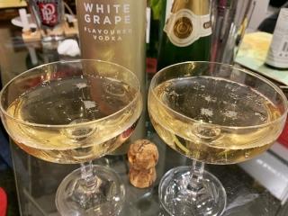 Ciroc White Grape vodka cocktails