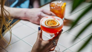 dry January no alcohol cocktail feature image