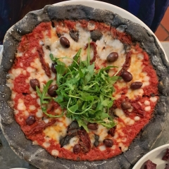 Lost Boys High Priestess vegan pizza menu