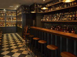 Milroys whisky comedy Spitalfields