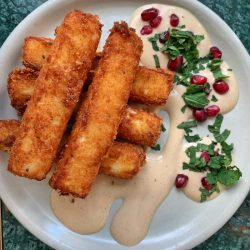 Timmy Green - halloumi fries