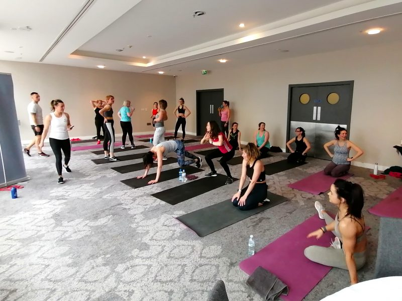 Yoga at the Lowry Hotel