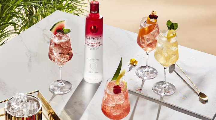 CIROC Summer Watermelon vodka