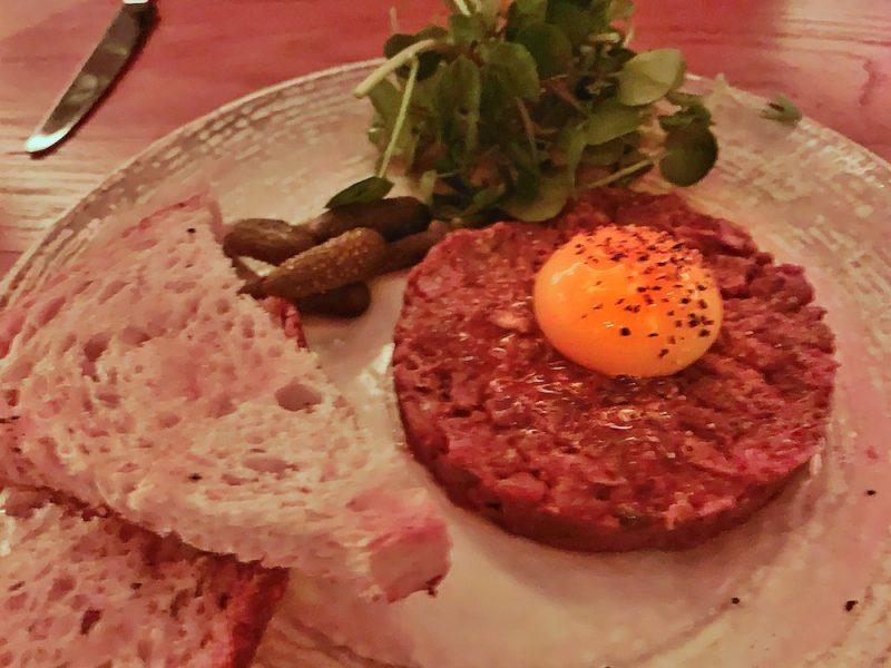 100 Wardour St - steak tartare