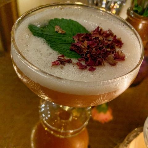 Cha Cha x Sister Jane Flamingo cocktail