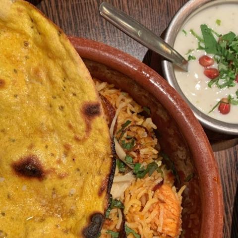 Salaam Namaste Indian Restaurant - Dumpukht Chicken Biryani