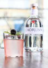 Caorunn gin cocktails and perfect serve