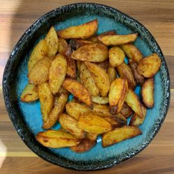 Eat Nourish Flourish book review - potato wedges