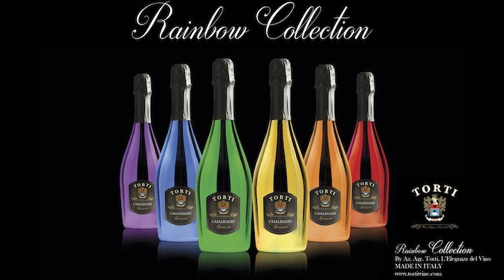 Torti Wines Rainbow Collection