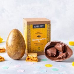 Easter round-up chococo honeycomb easter egg