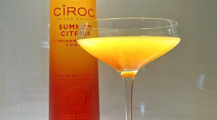 CÎROC Summer Citrus sunrise cocktail