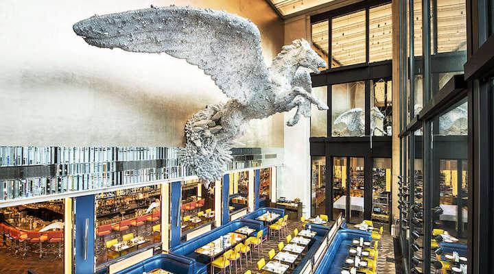 Brasserie of Light Selfridges boujie restaurant
